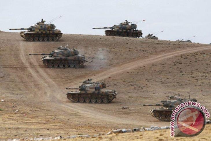 Tentara Suriah dikerahkan untuk hadapi pasukan dukungan Turki