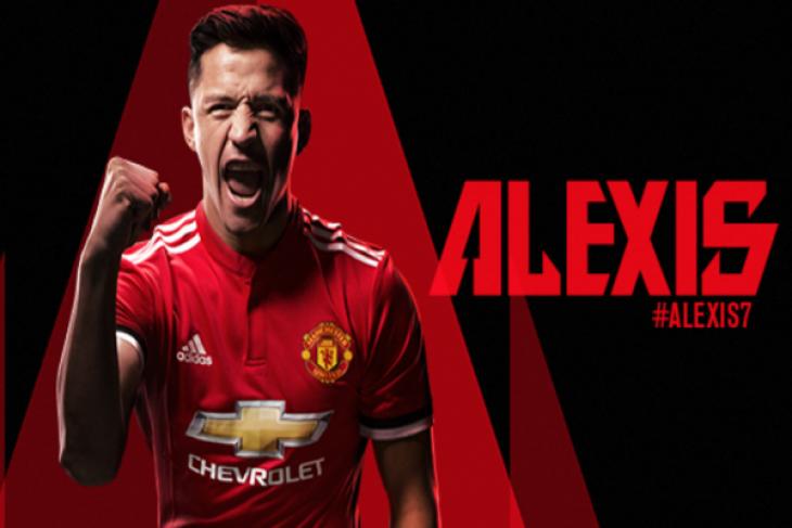 Alexis Sanchez jadi bintang baru Manchster United