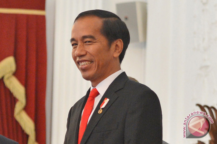 President Jokowi leads prayers at mosque in Afghanistan