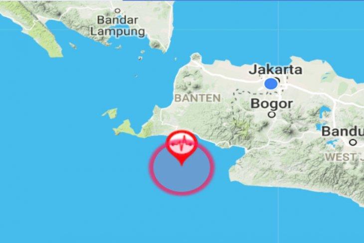 Lagi, getaran gempa Lebak terasa hingga Sukabumi