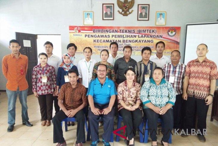 Panwaslu Bengkayang Berikan Bimtek PPL Kecamatan