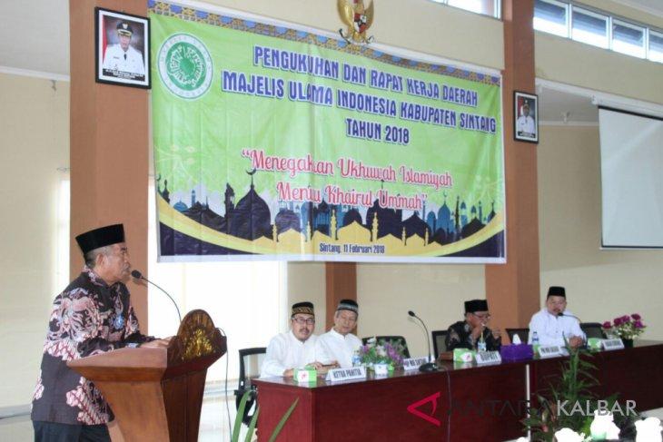 MUI Kabupaten Sintang dilantik