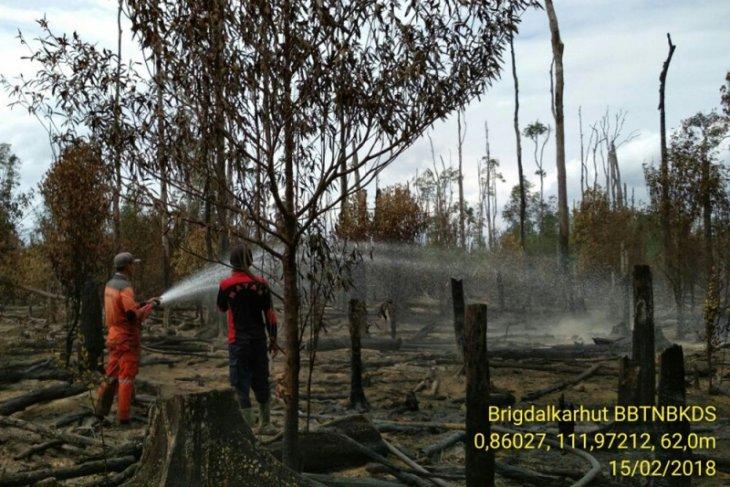 Balai Besar TNBKDS Kapuas Hulu latih masyarakat cegah Karhutla