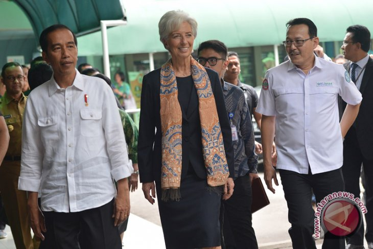 President shares information on health insurance program with IMF director