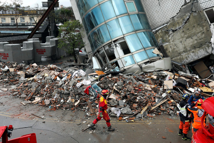 Taiwan diguncang gempa 6,0 SR, picu pemadaman listrik