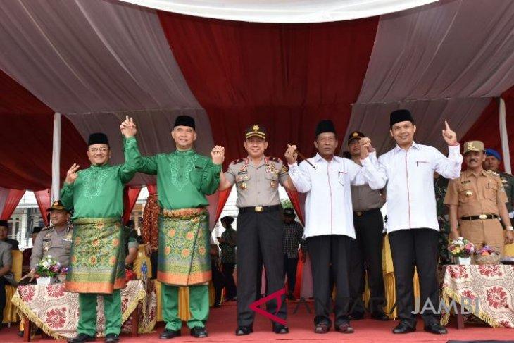 Calon  Wali Kota Jambi deklarasikan beradab