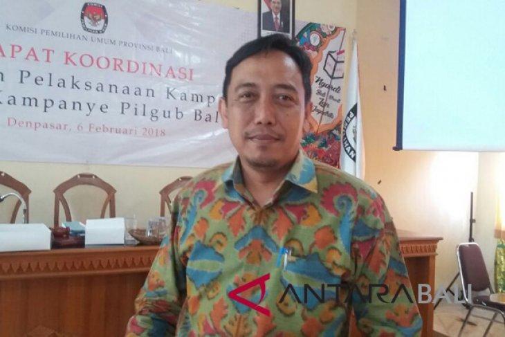 KPU Bali larang tim kampanye terima sumbangan asing