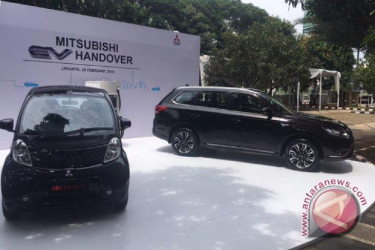 Mobil listrik Mitsubishi bisa menempuh jarak 800 km