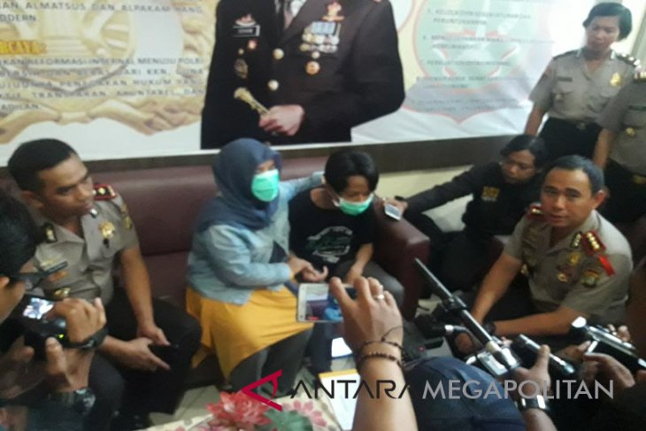Polrestro Bekasi menangkap pelaku penculikan dan pencabulan