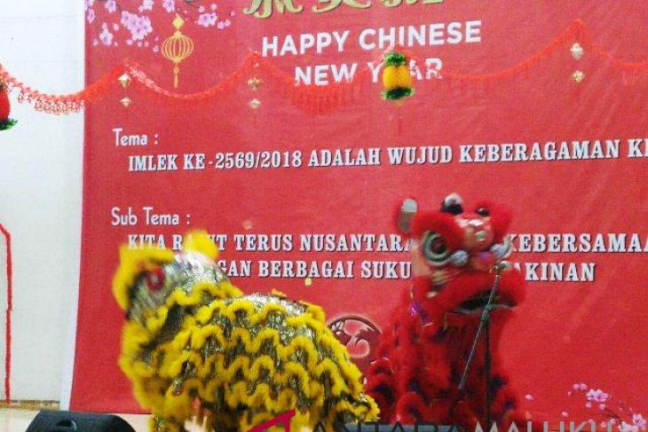 Masyarakat Tionghoa sambut imlek 2569 di Ambon