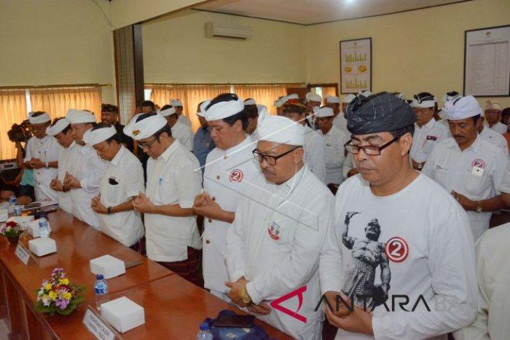 KPU Bali gelar doa bersama pembukaan kampanye