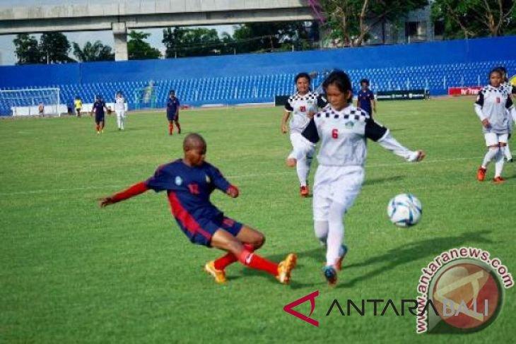 Geliat sepak bola putri bergerak ke Bali