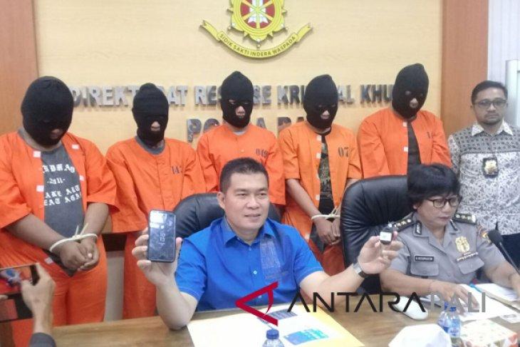Penipuan daring, Polda Bali tangkap 103 warga Tiongkok