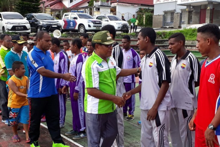 Imburi Ingin Atlet Wondama Tampil Pada PON