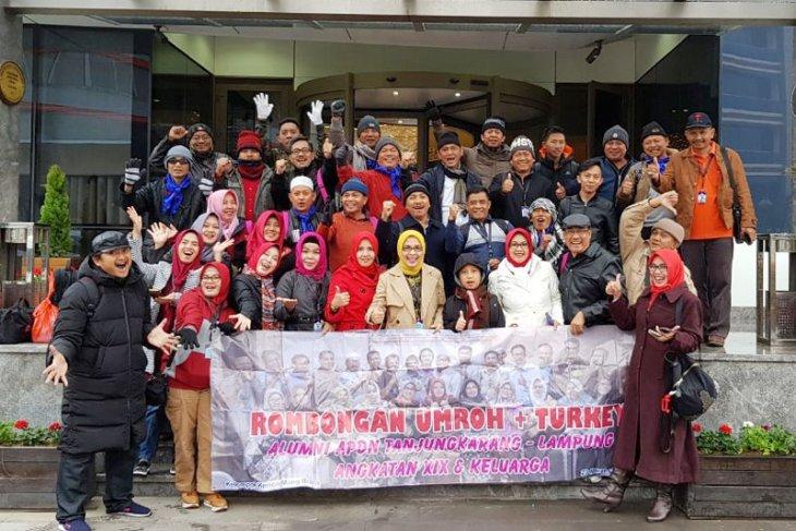 Rombongan Napak Tilas APDN XIX Lampung Tiba Di Turki