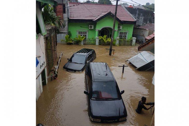 BPBD Buleleng data bangunan rusak terdampak banjir
