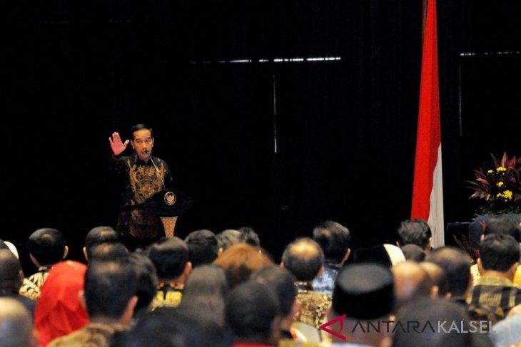 Bupati Hadiri Raker Pemerintah di Jakarta