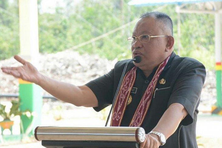 Rusman Ali sampaikan LKPJ Akhir Jabatan