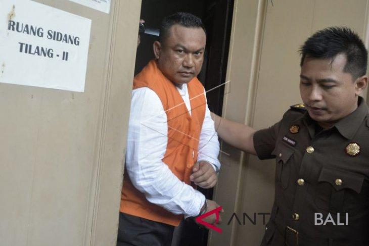 Kakak Anggota DPRD Bali dituntut sembilan tahun