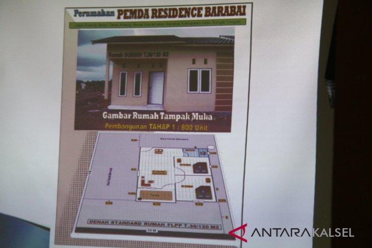 Pemkab HST Bantu PNS dan Honorer Miliki Rumah