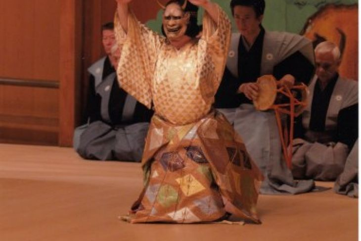 """Keio Plaza Hotel Tokyo hosts a """"Noh"""" Japanese traditional performing art event"""