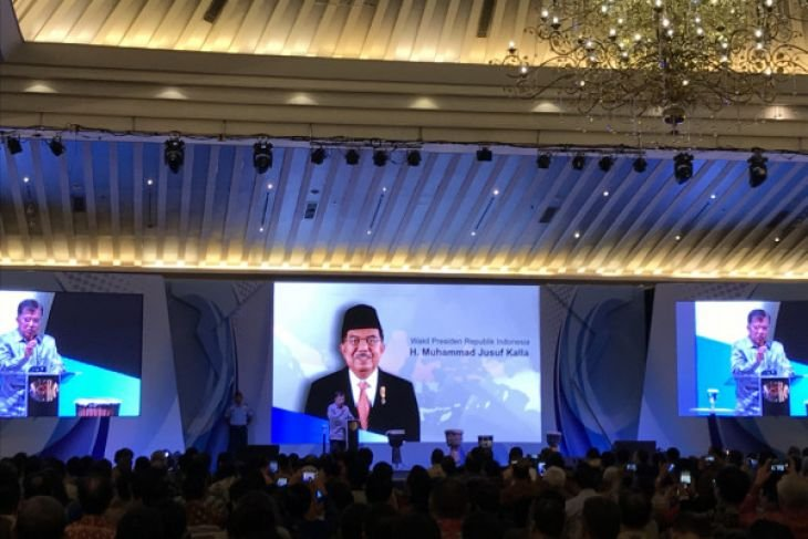 Wapres JK buka Munas Apindo Ke-X di Jakarta