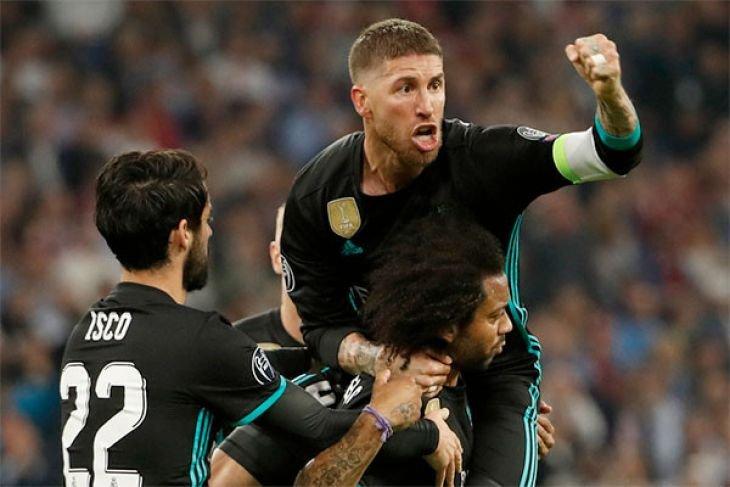 Real Madrid menang 2-1 di markas Bayern Munich