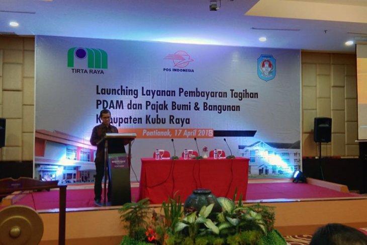 Masyarakat Kubu Raya bisa bayar pdam dan pbb lewat pos Indonesia