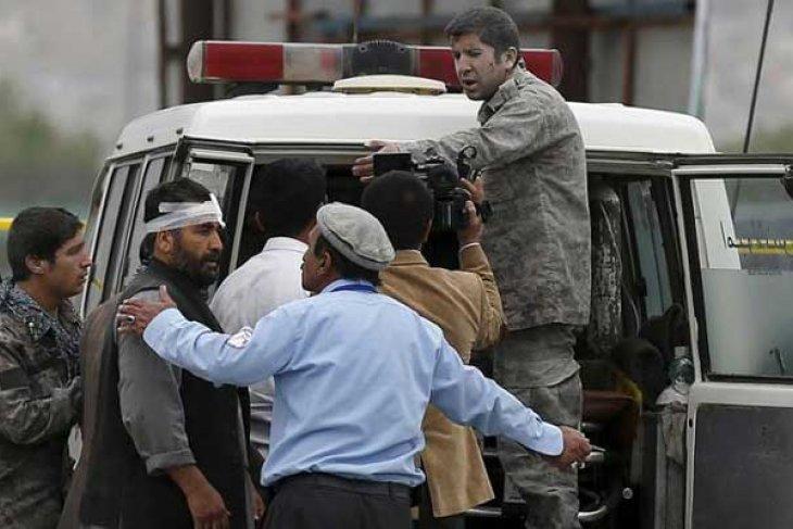 Ledakan bom guncang ibu kota Afghanistan