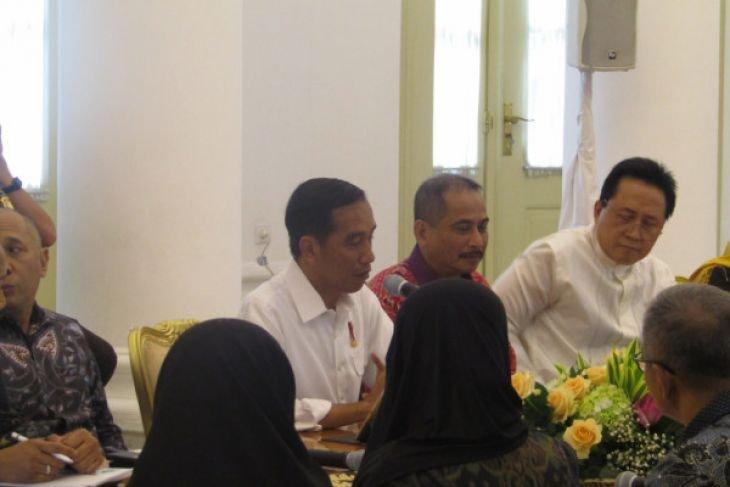 Presiden terima Komunitas Muslim Fashion di Istana Kepresidenan Bogor