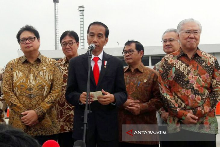 Ekspor Perdana Xpander Buatan RI Dilepas Jokowi (Video)