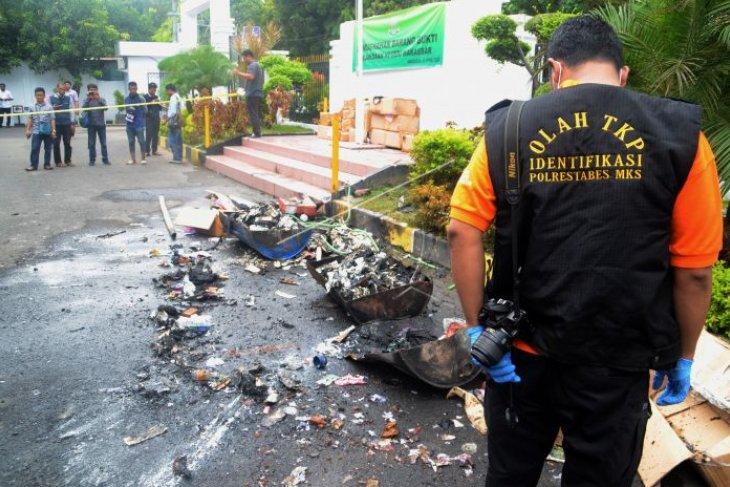 Ledakan disela pemusnahan barang bukti
