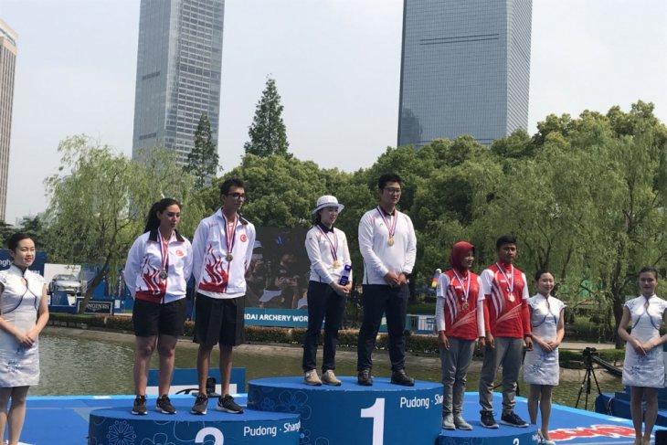 Kejuaraan Dunia Panahan di Shanghai Indonesia Raih Perunggu
