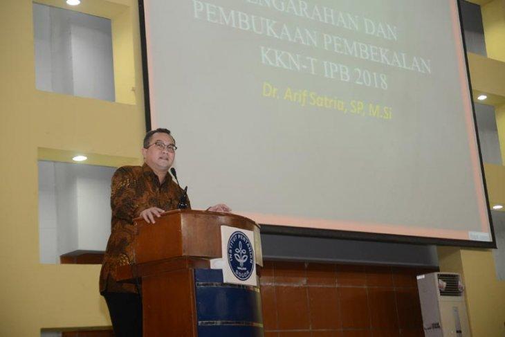 Tahun 2019, seluruh fakultas dan sekolah di IPB akan ikuti KKN-tematik