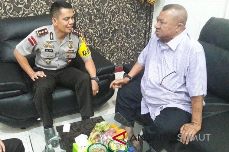Kapolres terima kunjungan Syamsul Arifin