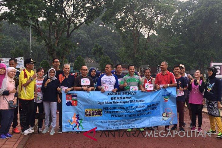 150 ASN Kota Bogor jalani tes kebugaran
