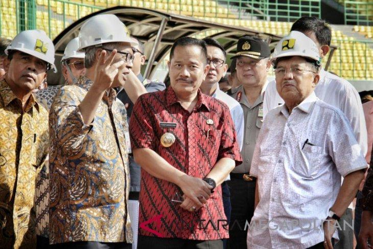 Wapres inspeksi Stadion Kota Bekasi 20 menit