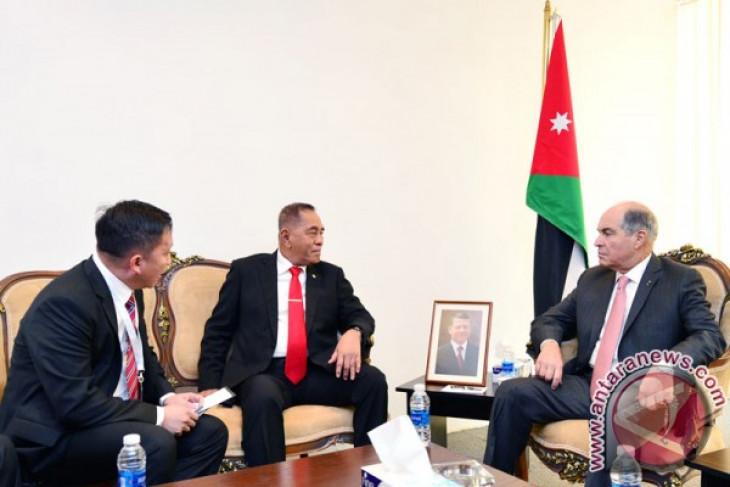 Indonesia, Jordan agree to step up defense cooperation