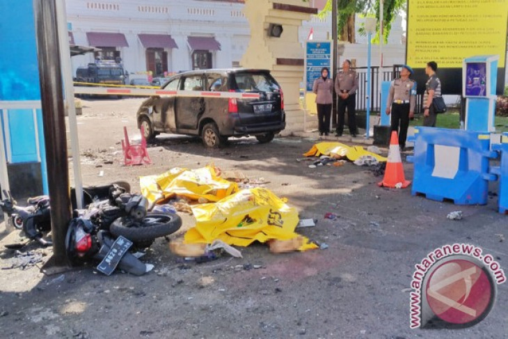 Terrorist family plunges into suicide bombing