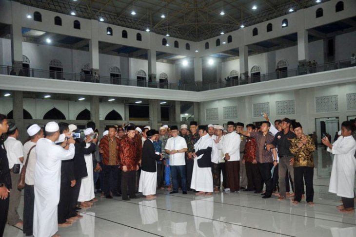 Masjid Terbesar Di Provinsi Lampung An-Nubuwwah Diresmikan