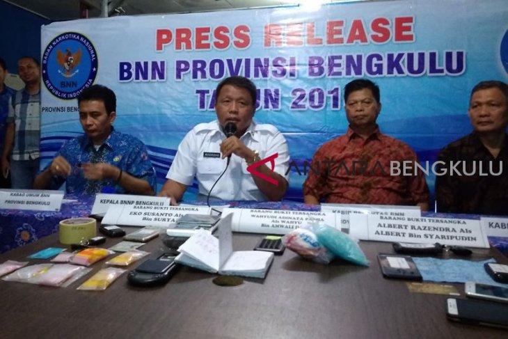 BNN Bengkulu gagalkan penyelundupan 300 gram sabu-sabu