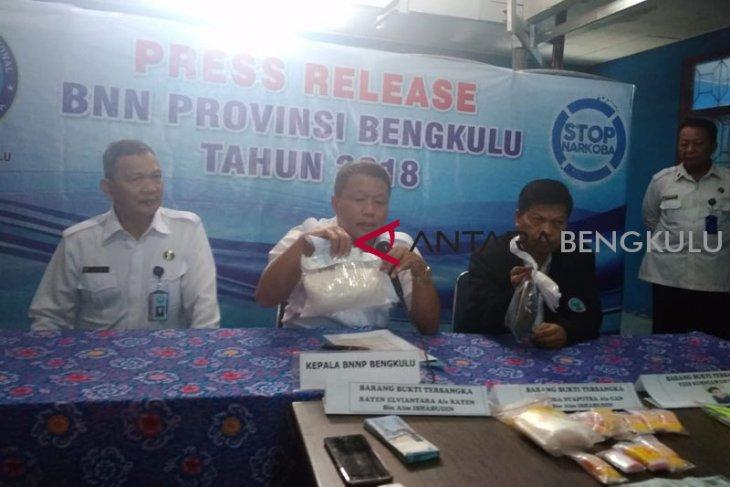 BNN Bengkulu gagalkan penyelundupan sabu-sabu