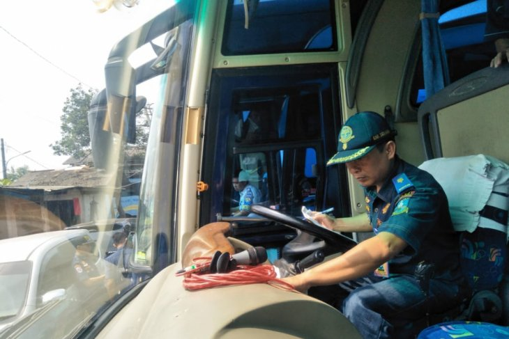 Jasa Raharja Periksa Ratusan Bus Jelang Mudik Lebaran