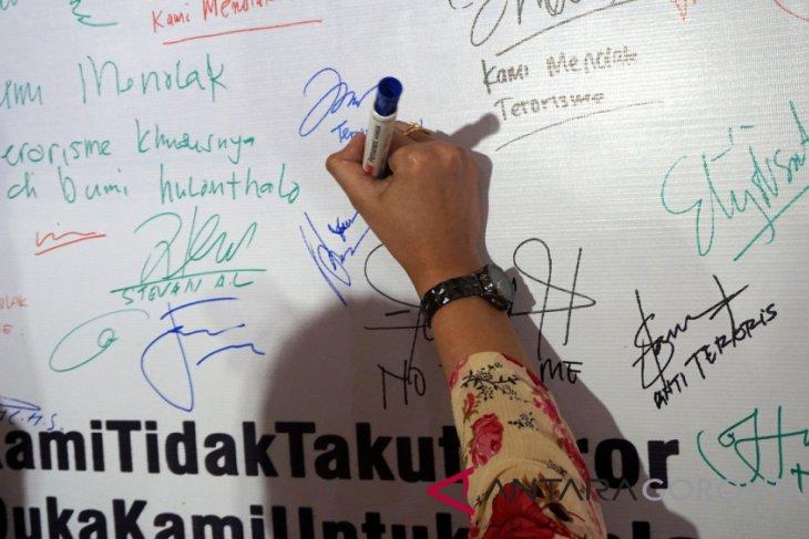 Warga Gorontalo Dukung Polri Berantas Terorisme