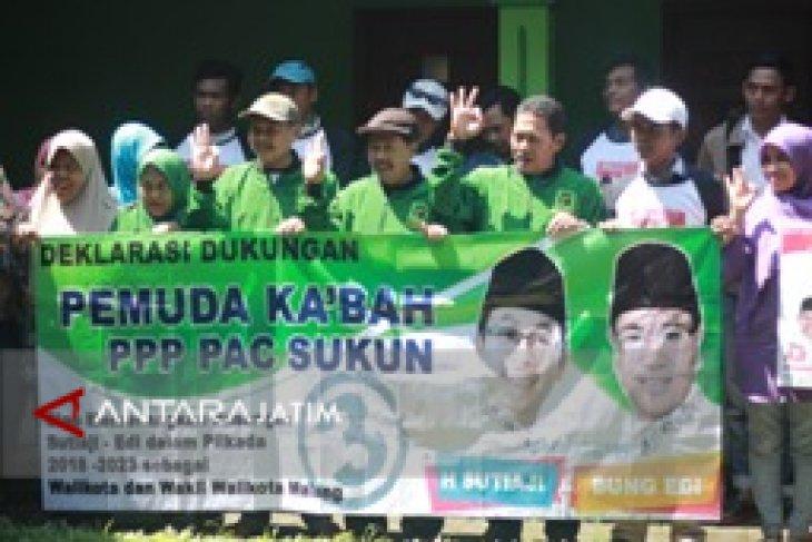 PAC PPP Sukun Berbalik Dukung Pasangan