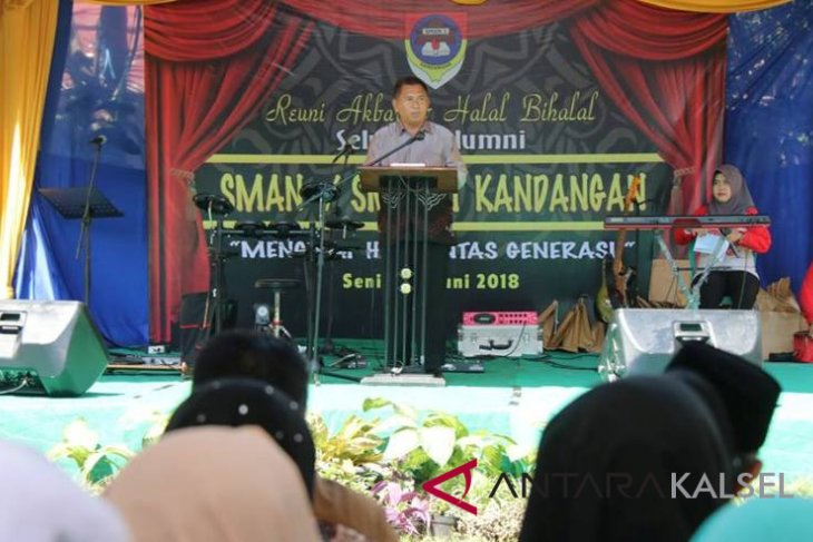 SMAN 1 Kandangan gelar reuni akbar dan halal bihalal