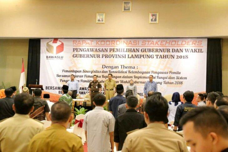 Pemprov Lampung Harapkan Bawaslu Tingkatkan Profesionalitas Cegah  Pelanggaran