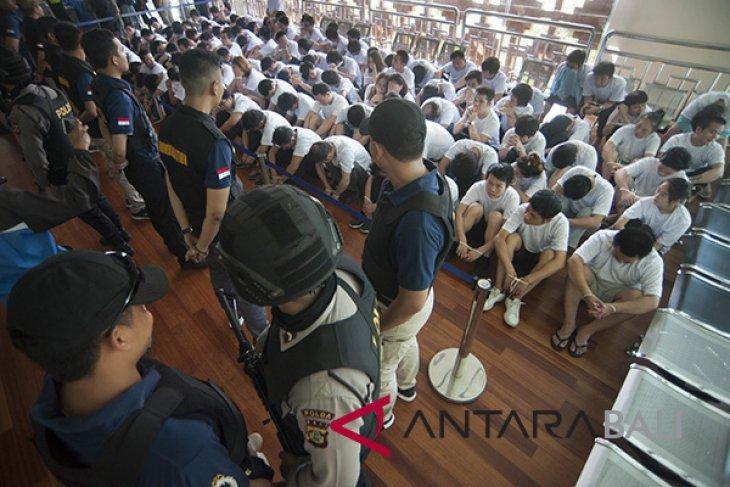Polda-Imigrasi Bali deportasi 105 warga Tiongkok