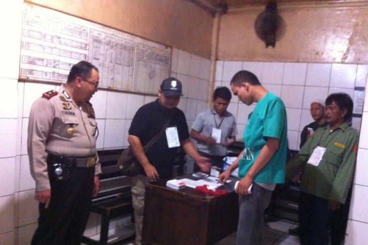 40 tahanan Mapolrestro Bekasi berikan hak suara