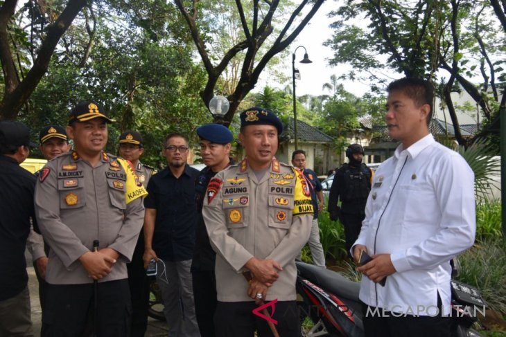 Kapolda Jawa Barat keliling cek TPS-TPS